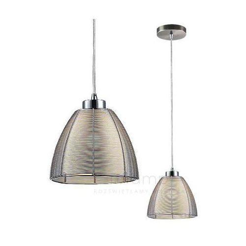 Lampa wisząca zwis oprawa Rabalux Jafar 1X60W E27 srebrna 2923 (5998250329239)