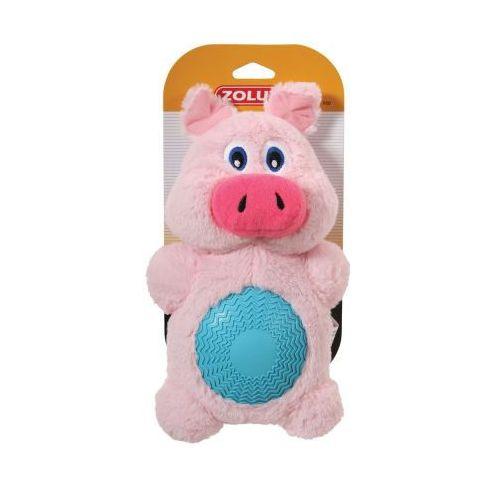 Świnka z dźwiękiem - pluszowo - gumowa zabawka dla psa ZOLUX - 22 cm