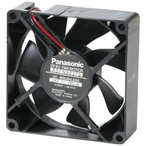Panasonic Wentylator osiowy  asfn86371, 12 v/dc, 72 m³/h, (dxsxw) 80 x 80 x 25 mm (2050000645730)