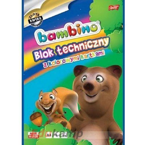 Blok biurowy techniczny a4 kolorowy bambino darmowy odbiór w 21 miastach! marki Majewski