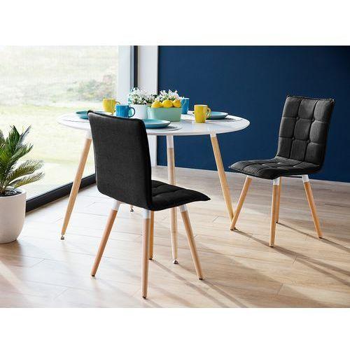 Krzesło antracytowoszare - do jadalni - kuchenne - BROOKLYN