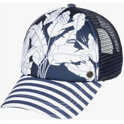 czapka z daszkiem ROXY - Btfl Morning Mood Indigo Flying Flowers (BSP7) rozmiar: OS
