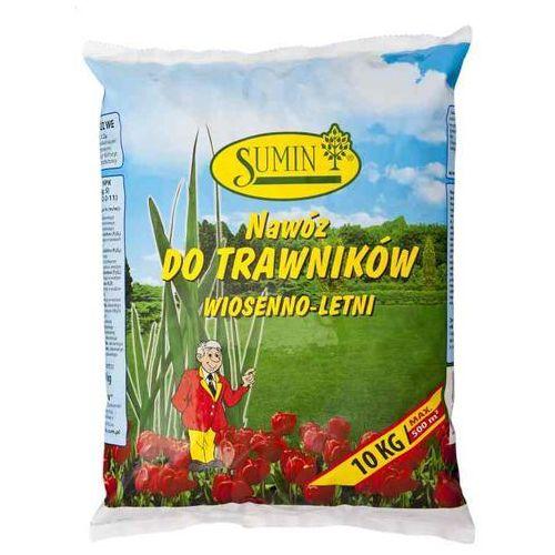 Nawóz do nawożenia trawników - wiosenno - letni 10kg worek, 5907102006730
