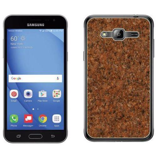 Samsung Galaxy J3 2016 - etui na telefon - Kolekcja marmur - marble klasyczny - H23