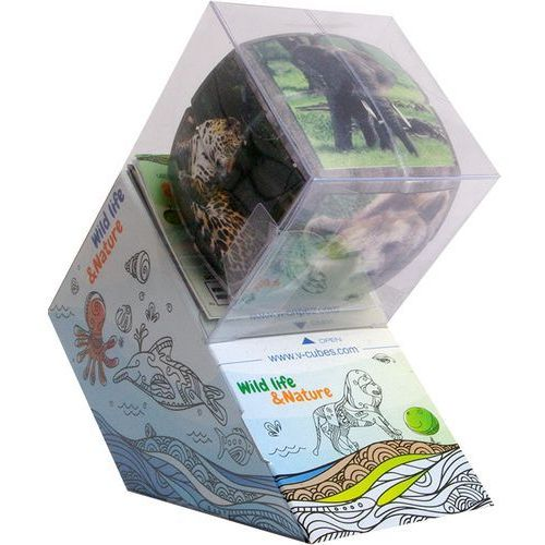 Verdes innovations s.a. V-cube wild animals (2x2x2) wyprofilowana