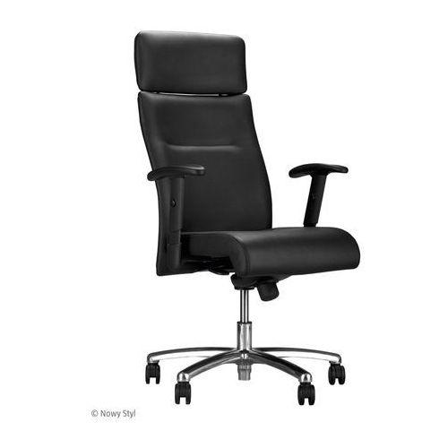 Fotel gabinetowy NEO LUX PL R1B steel04 chrome, Nowy Styl