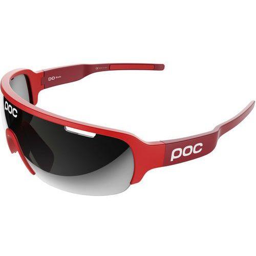 Poc do half blade okulary rowerowe czerwony 2018 okulary sportowe (7325540819824)