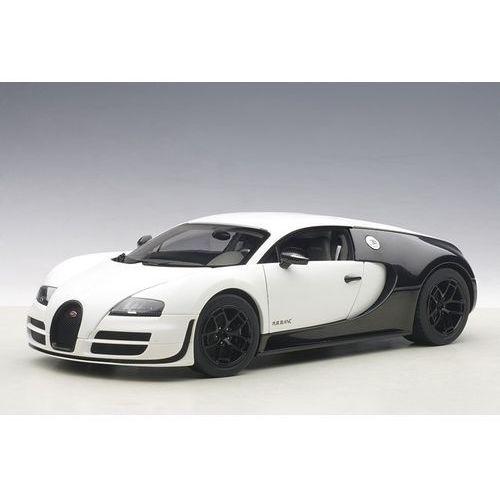 Bugatti Veyron Super Sport Pur Blanc Edition 2012 (matt white/black carbon) - Autoart, towar z kategorii: Osobowe