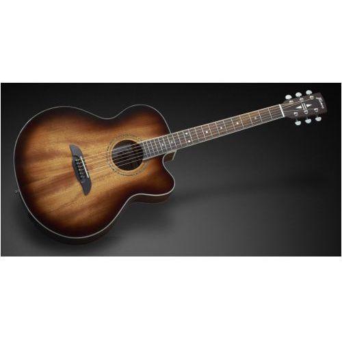 Framus fj 14 m vs - vintage sunburst transparent high polish + eq gitara elektroakustyczna