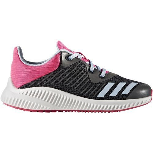 Adidas  performance fortarun obuwie do biegania treningowe dark grey/easy blue/shock pink (4057283727151)
