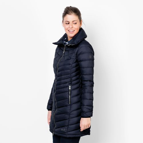 Płaszcz richmond coat women - midnight blue marki Jack wolfskin