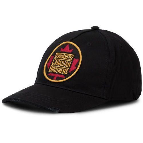 Czapka z daszkiem DSQUARED2 - Patch Cargo Baseball Caps BCM0238 05C00001 2124 Nero