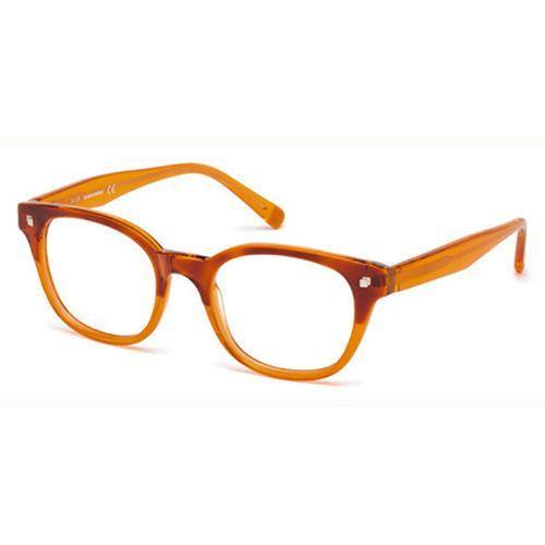 Okulary korekcyjne  dq5180 oxford 56b marki Dsquared2