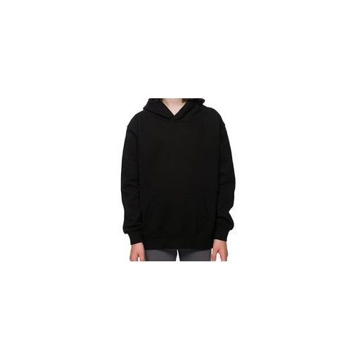 Dziecięca bluza (bez nadruku, gładka) - czarna, kolor czarny