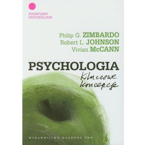 PSYCHOLOGIA KLUCZOWE KONCEPCJE TOM 1 (oprawa miękka) (Książka) (ilość stron 293)