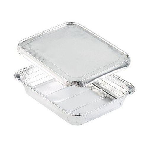 Pudełko z aluminiową przykrywką | 325x265x55 mm | 100szt. marki Duni