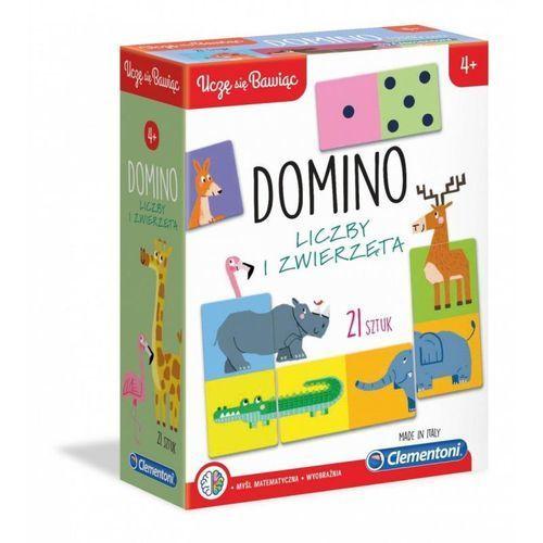 Gra domino liczby i zwierzęta marki Clementoni
