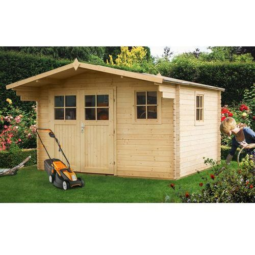Drewniany domek ogrodowy Powojnik