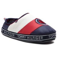 Kapcie - mountain patch downslipper fm0fm02005 rwb 020, Tommy hilfiger