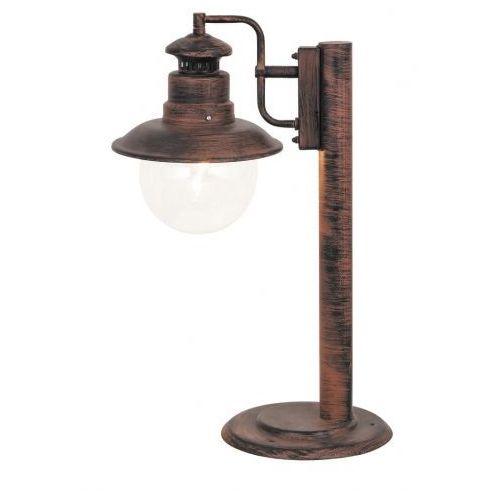 Lampa stołowa zewnętrzna ogrodowa Rabalux Odessa 1x60W E27 IP44 antyczny brąz 8165