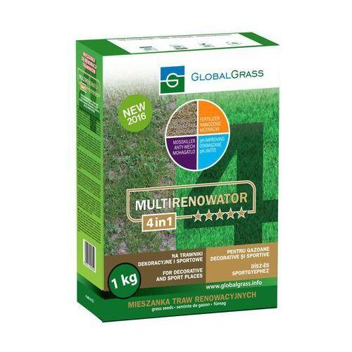 Global grass Trawa renowacyjna na trawniki dekoracyjne i sportowe multirenowator 4in1 1 kg (5901812400529)