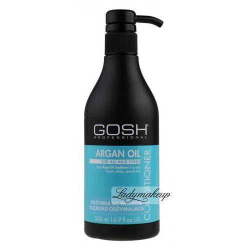 - argan oil conditioner - odżywka do włosów z olejem arganowym marki Gosh