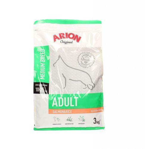 ARION Original Adult Medium Breed Salmon & Rice 3kg - 3000