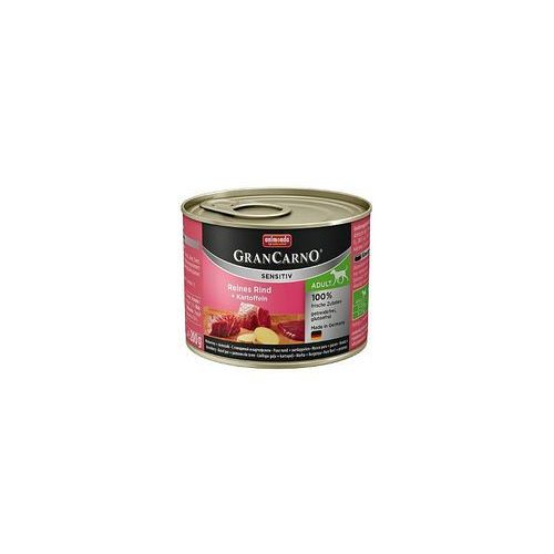 grancarno sensitiv wołowina i ziemniaki 200g - lekkostrawna karma dla psów wrażliwych - zestaw 6szt. [dostawa od 8,59zł, firma rodzinna] marki Animonda