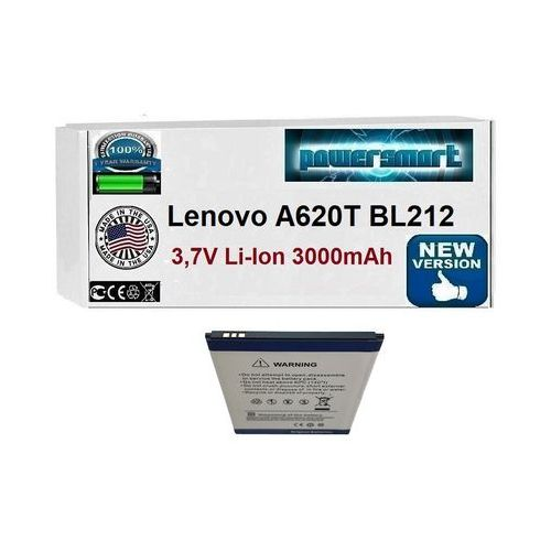 Powersmart Bateria akumulator lenovo a620t bl212 3000mah