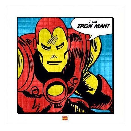 Iron Man (I Am) - reprodukcja (5051265452559)