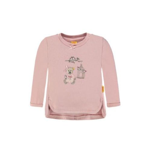 Steiff Collection MY LITTLE BIRD Bluzka z długim rękawem peachskin rose (4056178536533)