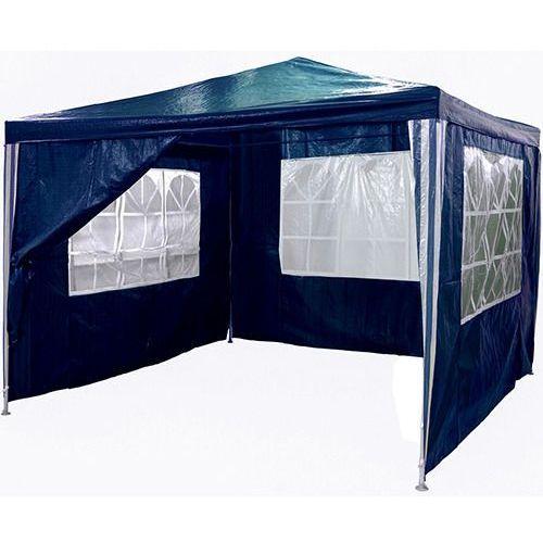 Pawilon ogrodowy 3x3 4 ściany namiot handlowy - niebieski od producenta Makstor.pl