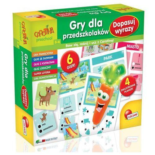 Gry dla przedszkolaków Dopasuj wyrazy, Carotina -, 5_592015