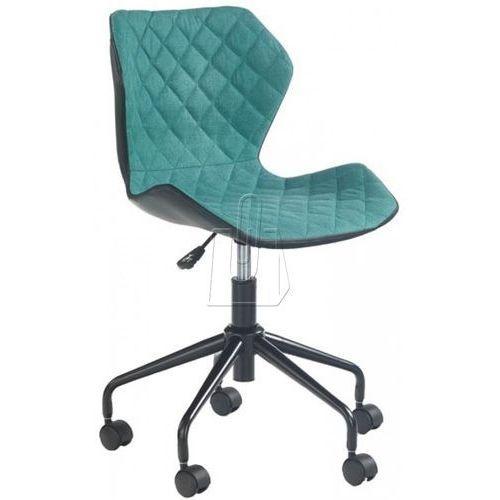 Fotel młodzieżowy matrix czarno-turkusowy marki Halmar
