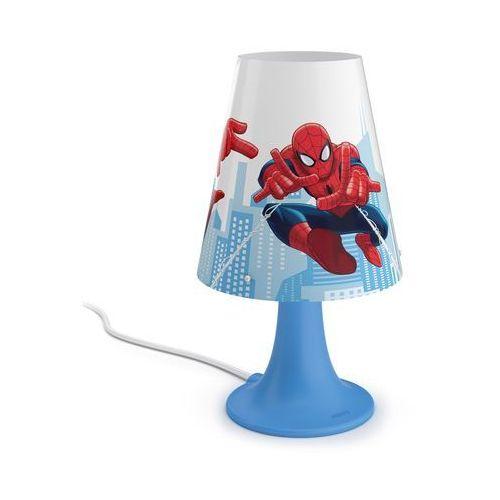 Philips 71795/40/16 - Lampa stołowa dla dzieci SPIDERMAN LED/2,3W/230V (8718696130384)