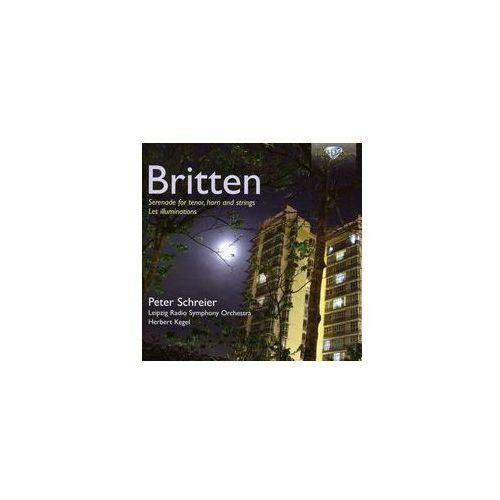 Britten: les illuminations op. 18, serenade op. 31 - 35% rabatu na drugą książkę! marki Brilliant classics
