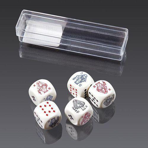 Kości do gry Piatnik Pokerowe 16mm (9001890297090)