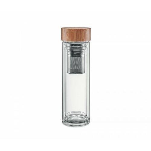 Termos szklany z zaparzaczem 420 ml AMBEO GLASS (przezroczysty), AMBEO GLASS