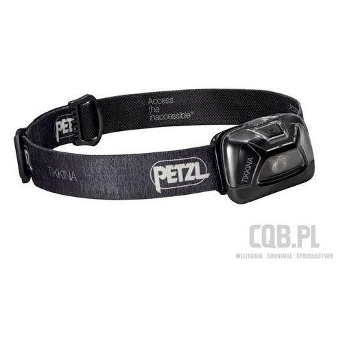 Petzl Latarka czołowa  tikkina czarna e91aba