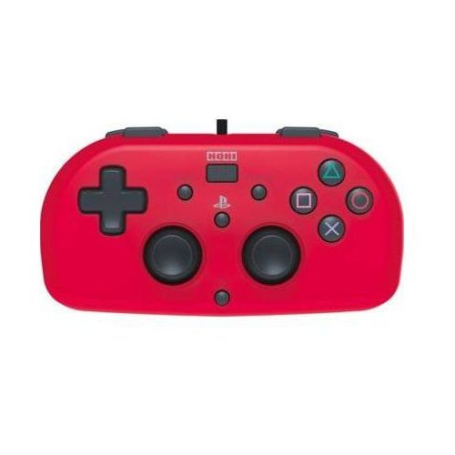 Kontroler mini gamepad czerwony do ps4 marki Hori