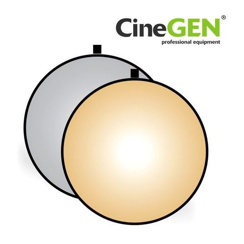 Blenda okrągła, srebrno-złota, 80cm, ® marki Cinegen