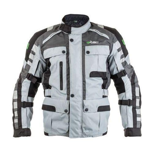 W-tec Kurtka motocyklowa avontur, szaro-czarny, l (8595153682910)