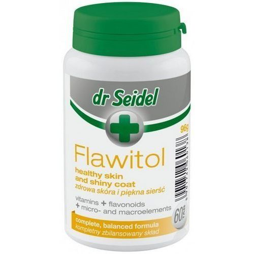 Dr Seidel Flawitol zdrowa skóra i piękna sierść 60 tabl.