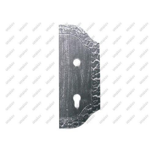 Umakov Szyld zdobiony prawy 265x105, t3, a90, d18,5mm