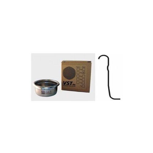 Precyzyjny filtr ze stali nierdzewnej do espresso vst 22 gram - standardowy (z wypustką z boku) marki Vst inc