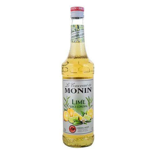 Syrop LIMONKA Lime Juice - Cordial Mixer Monin 700ml z kategorii Napoje, wody, soki