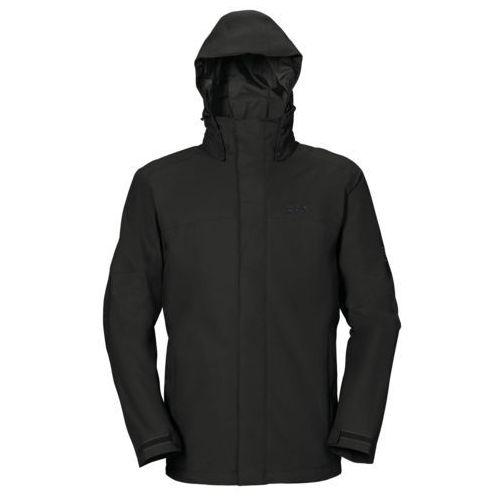 Kurtka strokkur texapore vent jacket men - black, Jack wolfskin