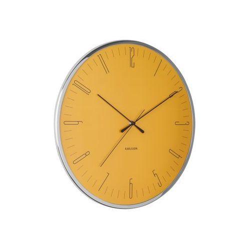 Zegar ścienny dragonfly żółty marki Karlsson