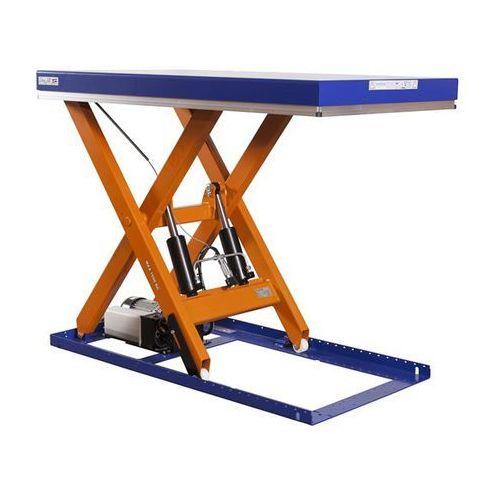 Kompaktowy stół podnośny, udźwig 1500 kg, dł. x szer. platformy 1700x1000 mm, po