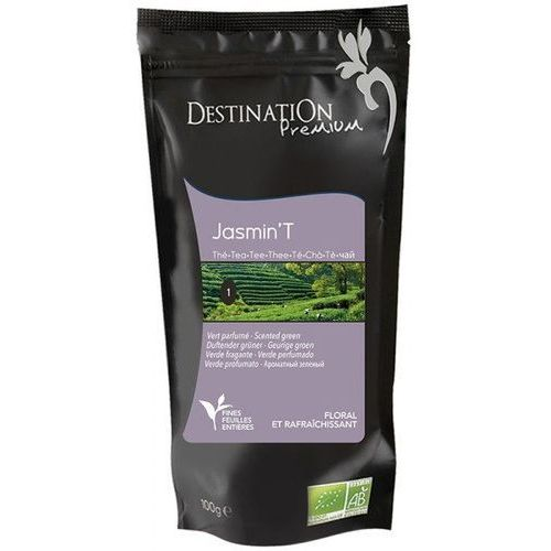 Herbata Zielona Jaśminowa Chiny 100g - Destination (3700110029522)
